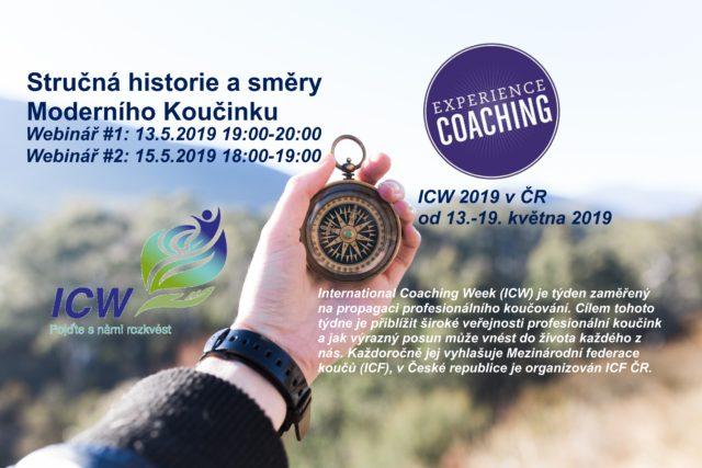 Webinář: Stručná historie a směry Moderního Koučinku II.